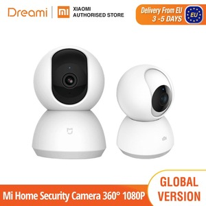 Xiaomi Mi Home Security Camera 360° 1080P (Wireless WiFi Night Vision Video Camera Webcam Camcorder Protect Home Security)