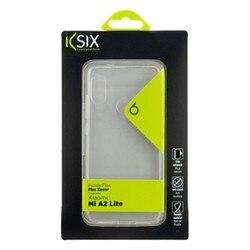 Pokrowiec na telefon komórkowy Xiaomi Mi A2 Lite KSIX Flex przezroczysty