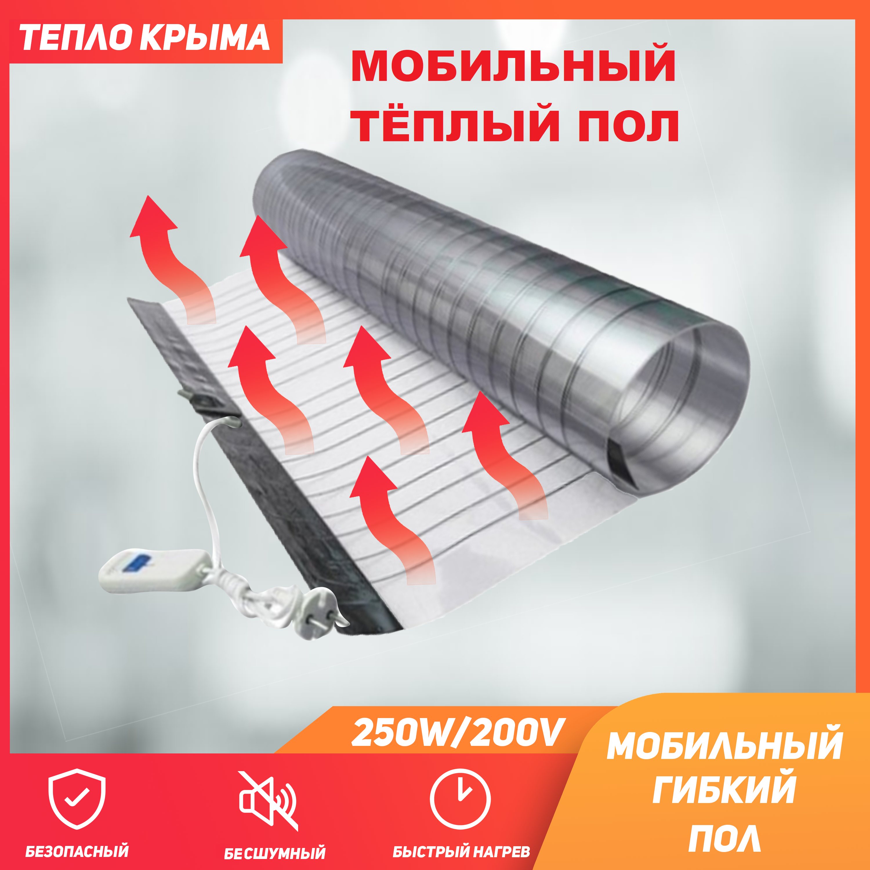 Mobile Warm Floor 250 Watt 1,8 M