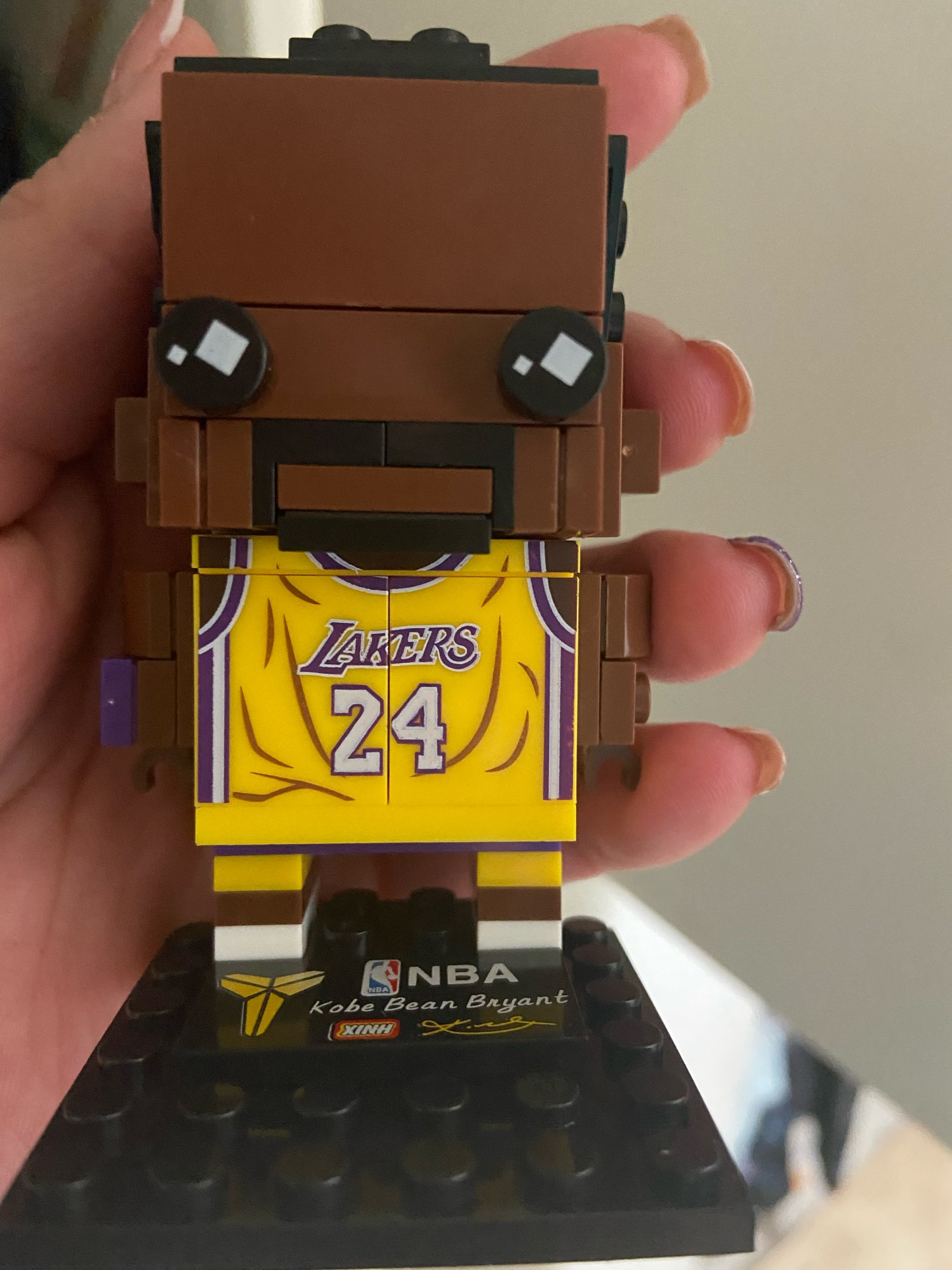Collection Basketball Sports Star kobe bryant Brick Heads Figures Compatible