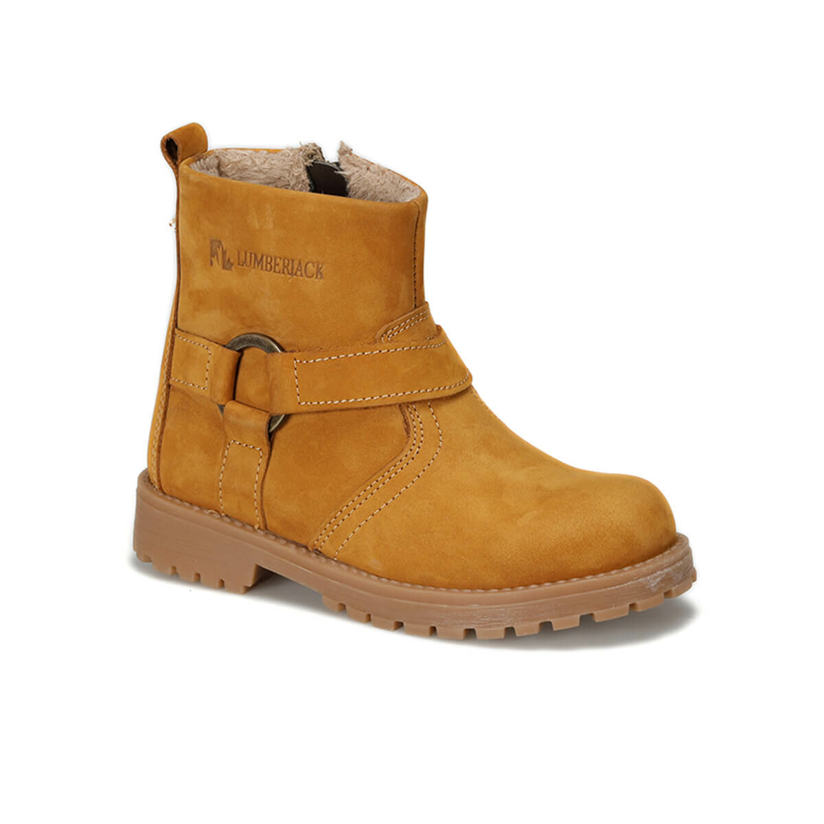 FLO SON 9PR Yellow Male Child Boots LUMBERJACK