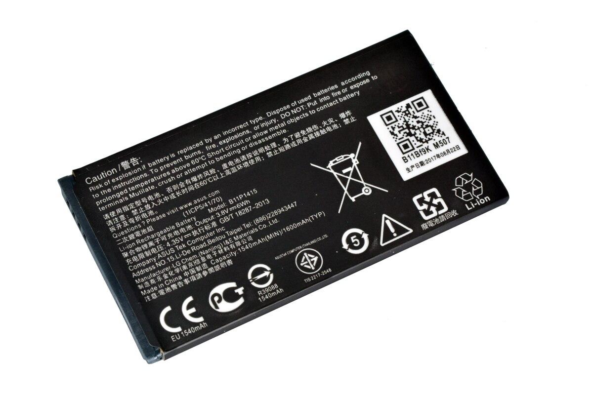 АКБ ASUS B11P1415  Zenfone Go / ZC451TG 1540/1600mAh|Аккумуляторы для мобильных телефонов|   | АлиЭкспресс