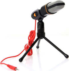 Skraplacz Microfone 3.5mm z podparciem tripode Q 888|Mikrofony|   -