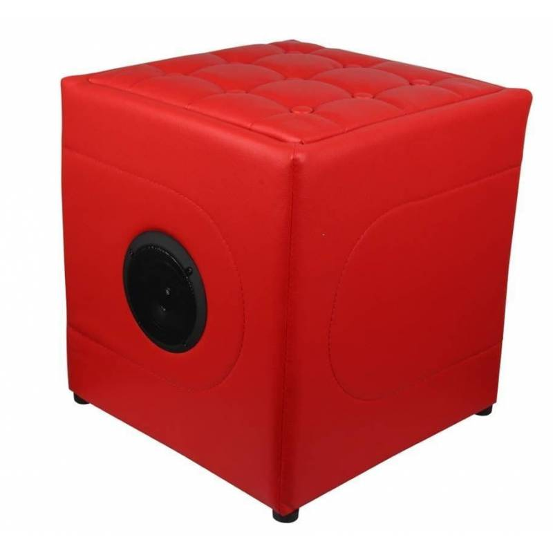 Bean Bag Footstool With Speaker And Built-in Bluetooth