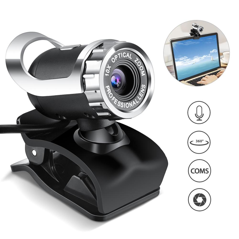 Webcam Video Chat Recording Usb Camera HD Smart 1080p for PC Laptops Desktop Macbook Computer Accessory 30FPS HD image