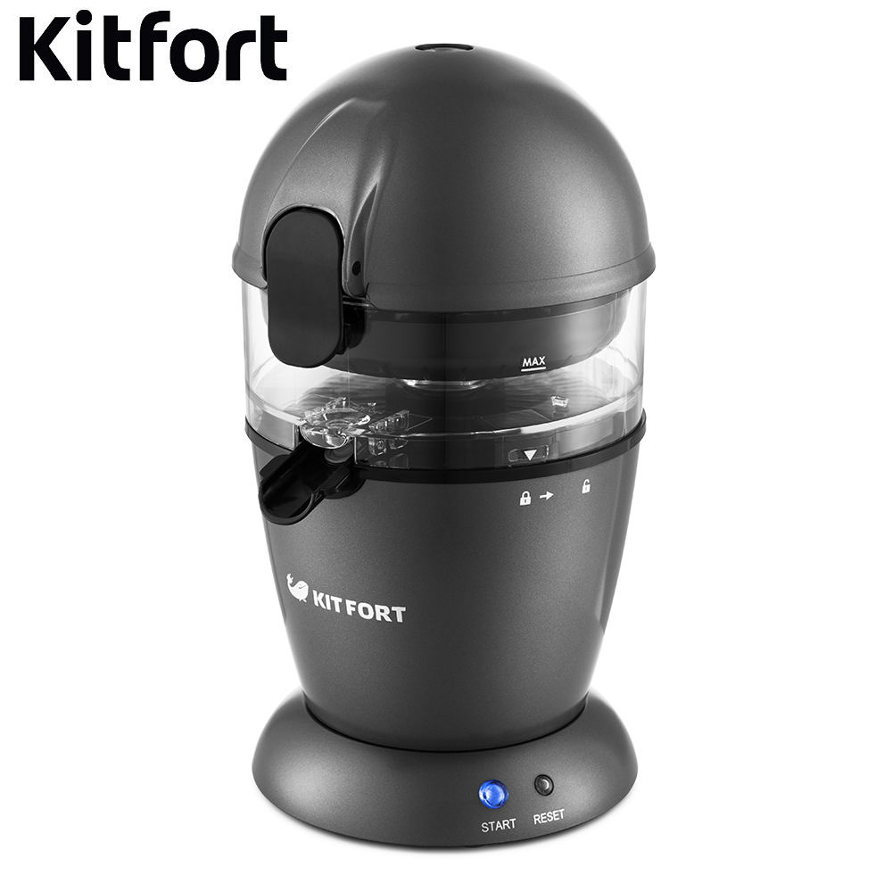 купить Automatic squeezer citrus Kitfort KT-1115 Citrus Electric Juicer kitchen juice Press for pressed juice extractor Juicer Press for citrus дешево