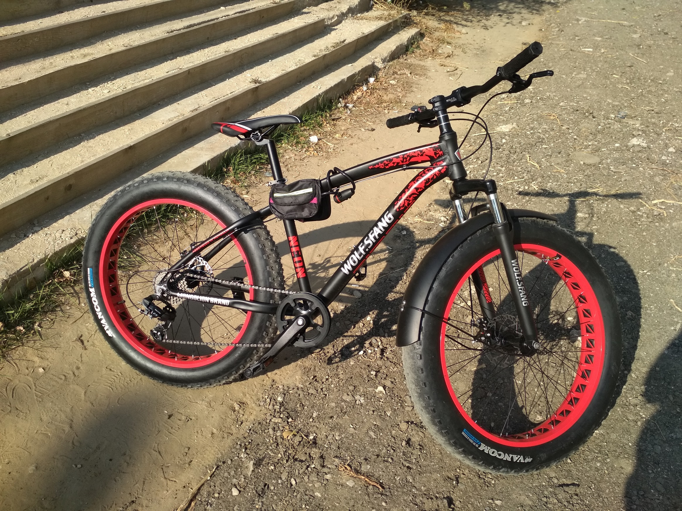 Bicicleta mountain polegada gordura