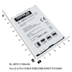 Optimus K20 TP260 F240 E980 K8 K4 K3 M160 MAX P720 P725 battery For LG G Pro2 F350 BL-46G1F BL-45F1F BL-48LN BL-47TH BL-48TH