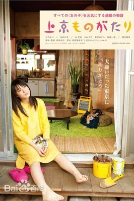 上京物語海報