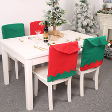 Christmas Decoration Chair Covers Dining Seat Santa Claus Home Party Decor New Year Supplies