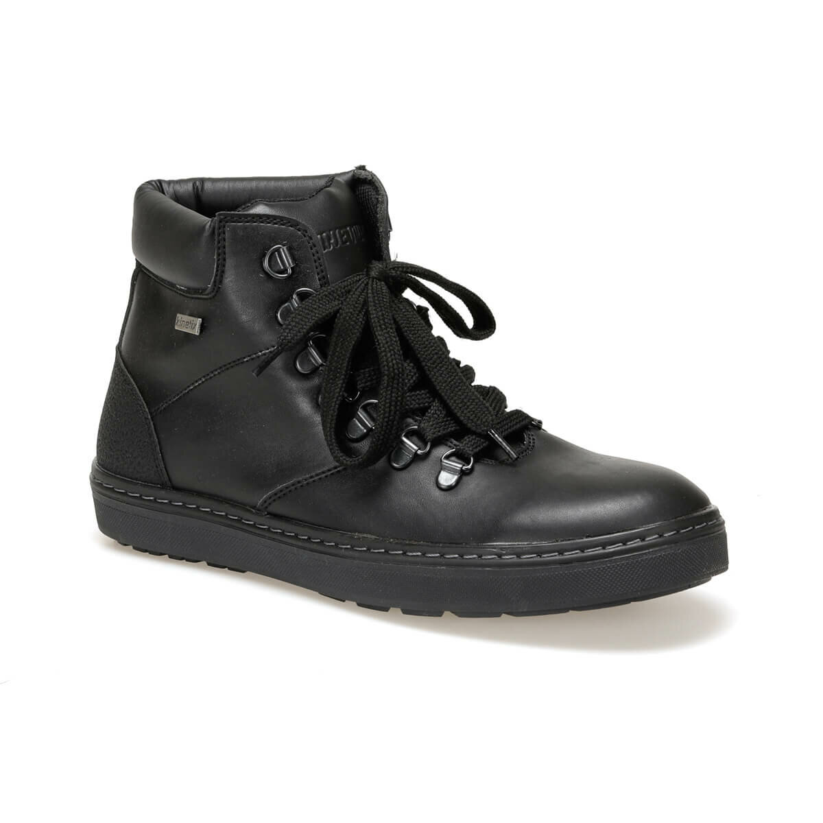 FLO AFRON Black Men Boots KINETIX