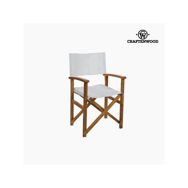 Wood Chair Nim White (86x55x52 Cm) By Craftenwood