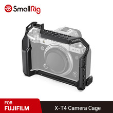 Klatka SmallRig XT4 do aparatu FUJIFILM X-T4 W/ Multiful otwory gwintowe do mikrofonu LED Lights DIY opcje 2808(China)