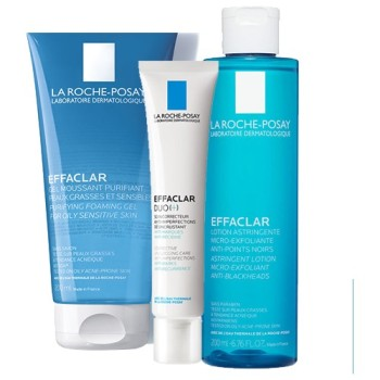 La Roche-Posay Acne Nursing Care Set-Gel-Cream-Tonic 1