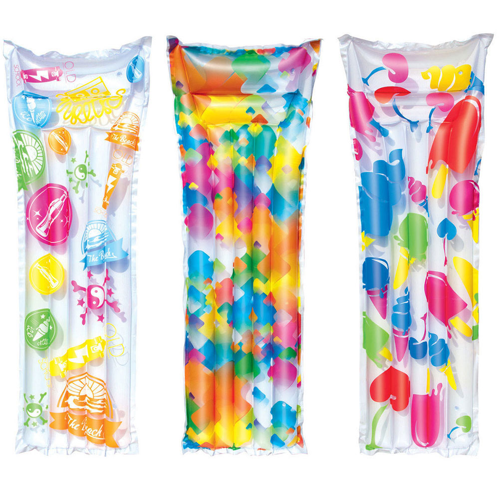Bestway Mattress Swimming PVC, 183 х69см, Bright