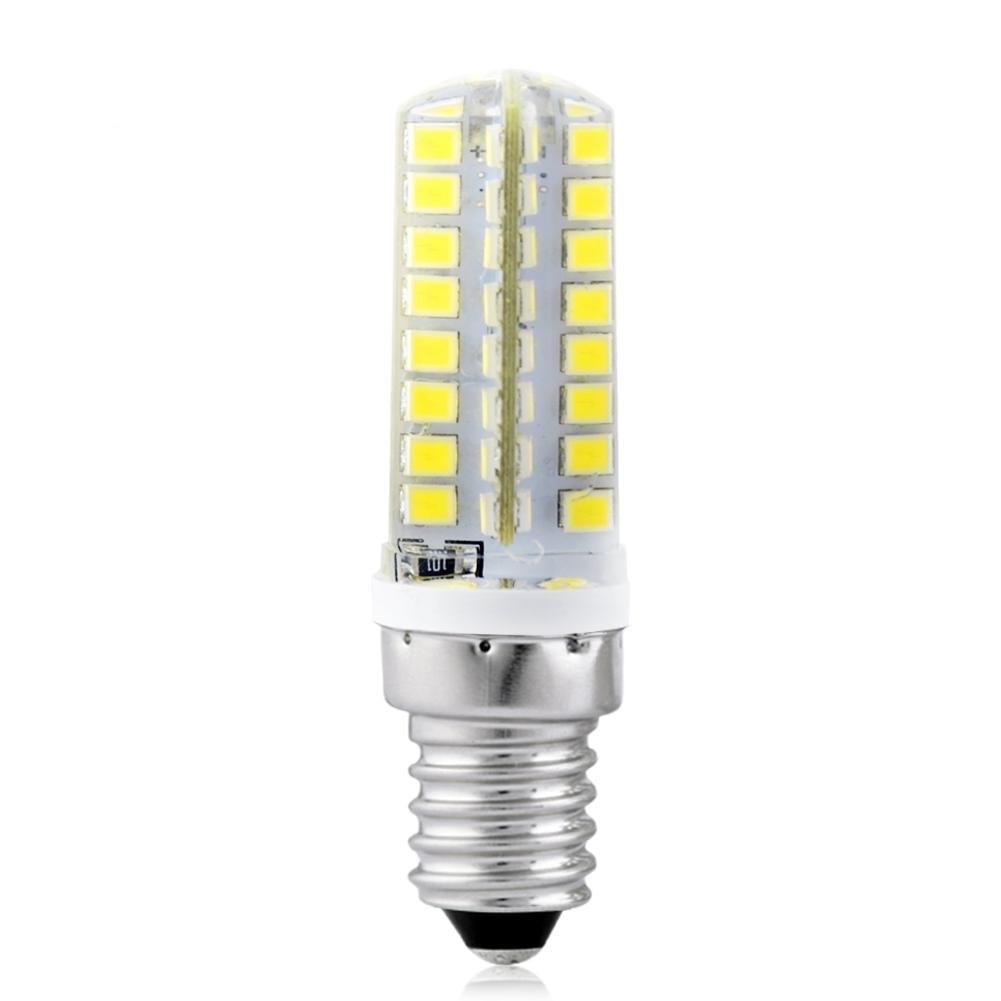 Led bulb E14 5W 6500K cold white e27 5w 450lm 6500k 5 led white light lamp bulb white silvery grey ac 85 265v