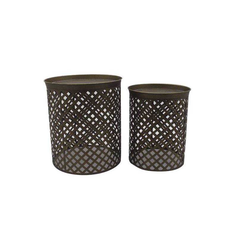 Side Table Iron (2 Pcs)