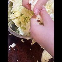 醋溜圆白菜的做法图解2