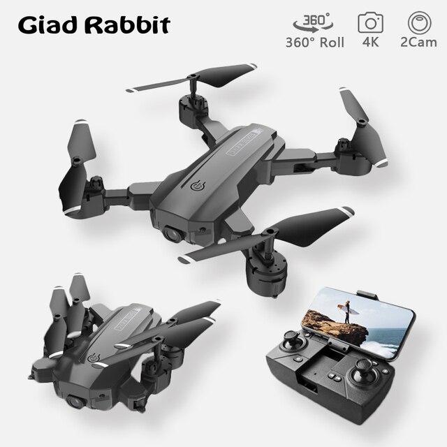 H9 drones com câmera hd 4k 1080p quadcopter fpv fotografia helicóptero wi fi controle remoto brinquedos dobráveis para meninos adolescentes rc dron 1