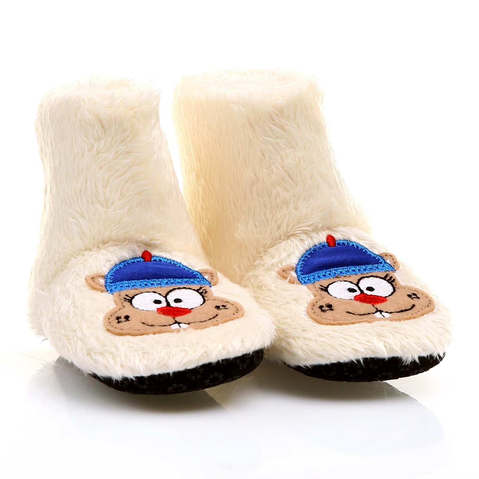 Ebebek HelloBaby Embroidered Baby Comfortable Home Bootie Shoes