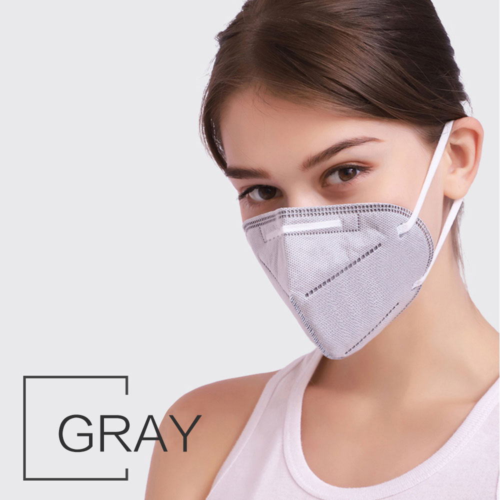 1PC Disposable kn95 Face Mouth Mask For Adults Anti-Dust Anti Virus Bacteria Black Face Mouth Mask Dropship TSLM1 5