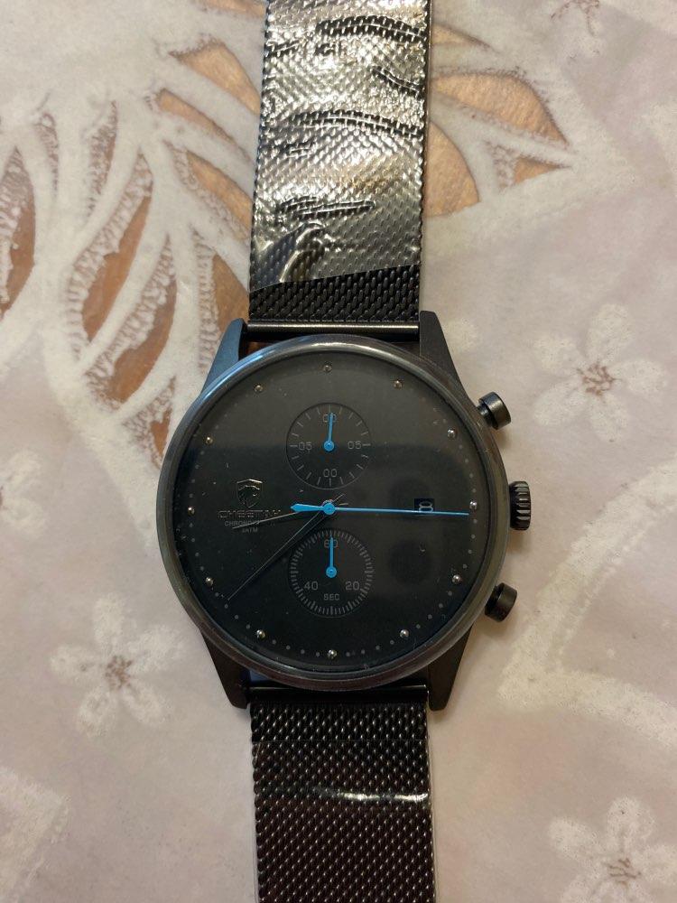 New CHEETAH Brand Men Watches Chronograph Quartz Watch Men Stainless Steel Waterproof Sports Clock Watches Business reloj hombre photo review