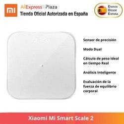 Xiaomi Mi skala 2  inteligentna skala  wyświetlacz LED  Bluetooth  globalna i oryginalna wersja