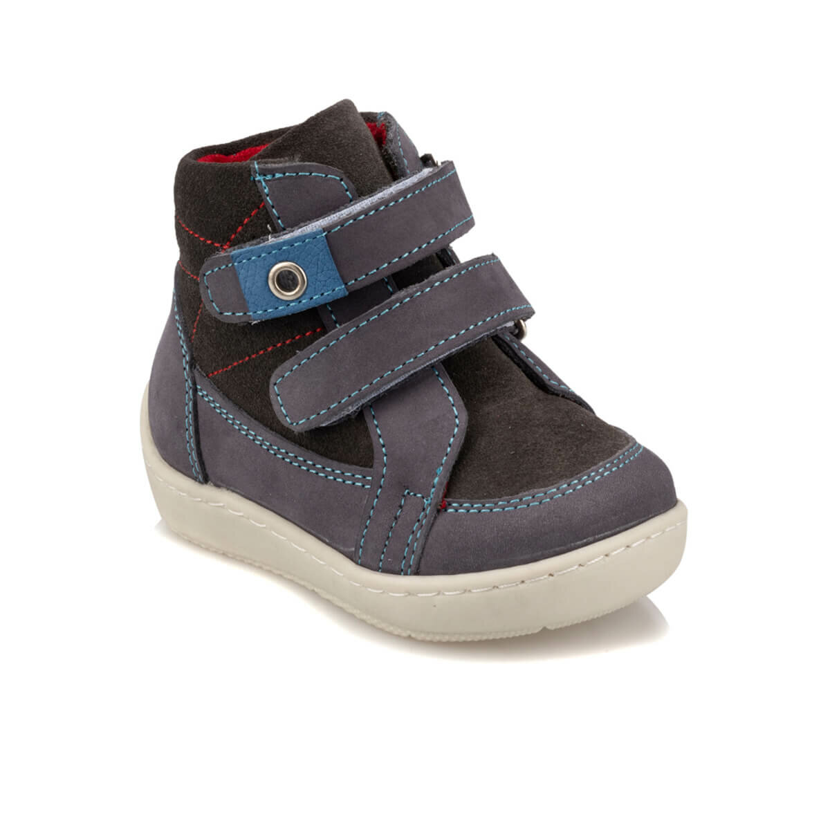 FLO 92.512016.I Gray Male Child Sneaker Shoes Polaris