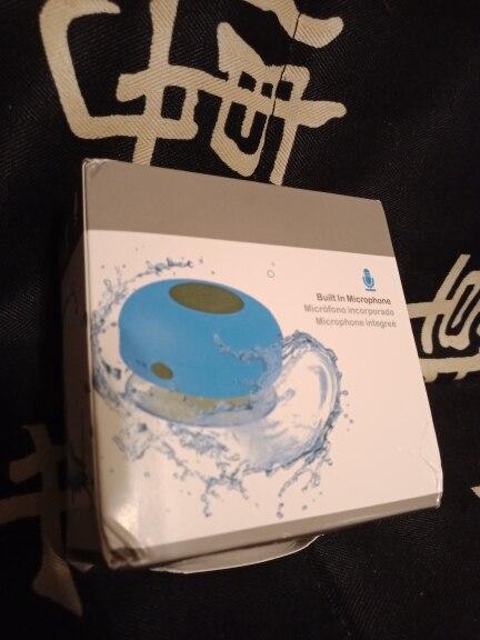 Mini Bluetooth Speaker Portable Waterproof Wireless Handsfree Speakers, For Showers, Bathroom, Pool, Car, Beach & Outdo|Portable Speakers|   - AliExpress