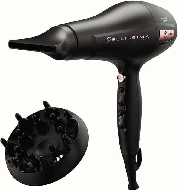 Bellissima Hair dryer My Pro P3 3400 with technology Air Power Motor AC Power 2400W Speed 160 km/h ionized 1