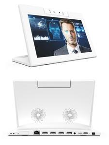 Desktop-Display Binocular-Camera Indoor-Room Meeting. 10inch Android Smart with Ideal