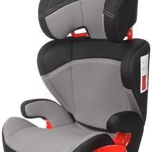 Play Safe Two car seat, group 2/3 (from a 36 kg), adjustable head, without isofix, gray color