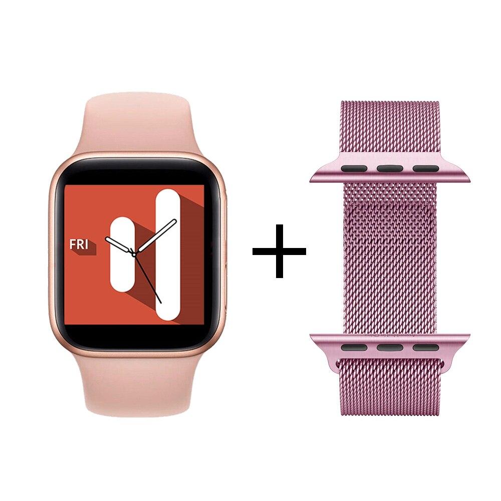 Pink Steel Strap