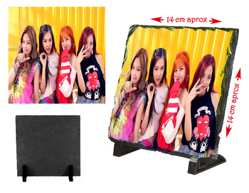 MERCHANDMANIA BLACKPINK slate plate IN YOUR AREA KPOP photo holder ornament home gift personalized offer 1