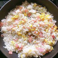 #安佳食力召集,力挺新一年#火腿蛋炒饭的做法图解9