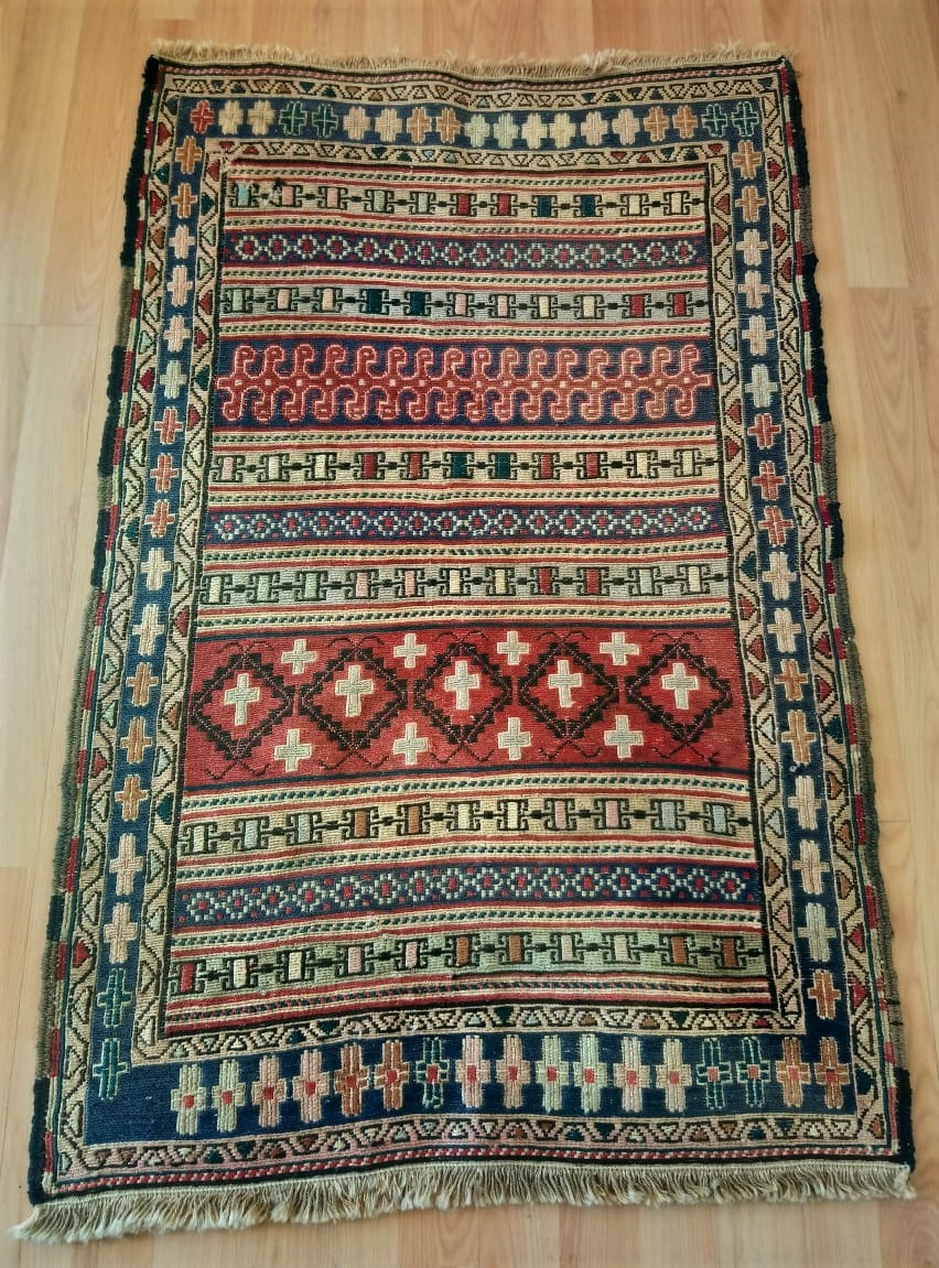 Persian Handmade Kilim Rug Vintage Very