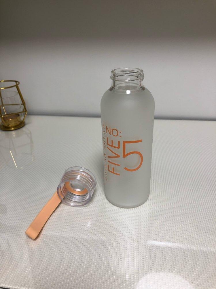 JOUDOO 300ml/400ml  Frosted Glass Water bottle Healthy Water Container Summer Lemon Water Bottle Drink Bottles Outdoor 47|Water Bottles| |  - AliExpress