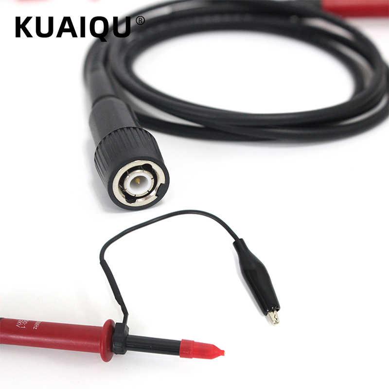 1PCS PP-150 Hantek Oscilloscope Probe Accessories Alligator Clip 1X 10X 100MHz