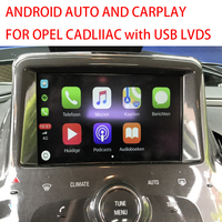 SRX XTS CTS ATS CarPlay Apple AirPlay Phone Android Auto for OPEL Impala After 2013 with CUE Original 4 inch and 8 inch Systems