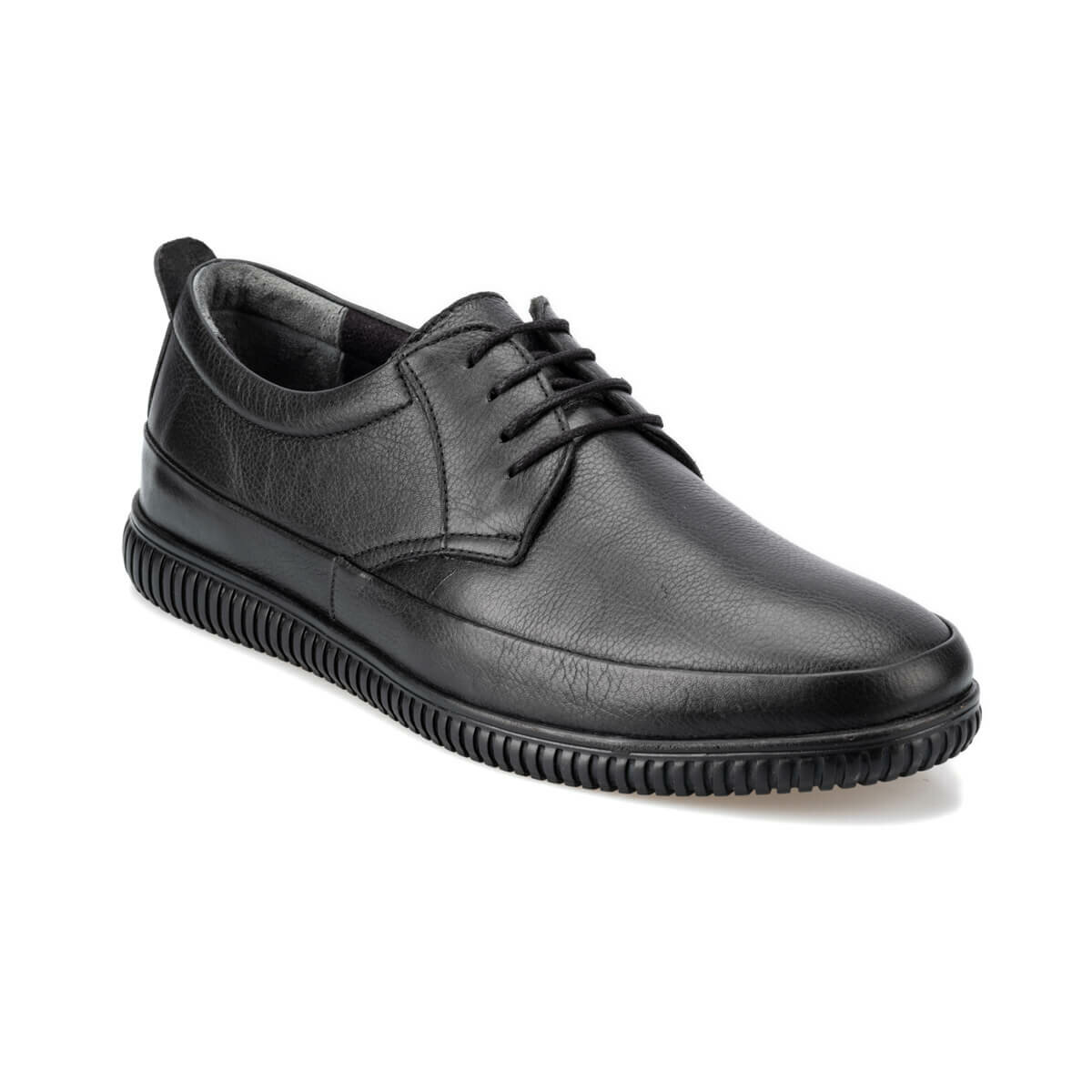 FLO 92.100478.M 黒人男性の靴ポラリス 5 ポイント