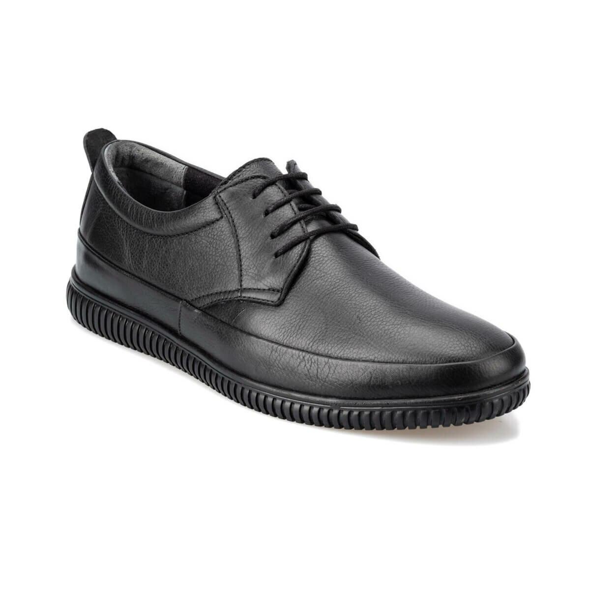 FLO 92.200478.m zapatos negros Polaris 5 puntos