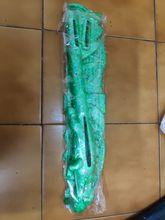 Arrived slightly damaged, a bit deformed. I supose due to shipping process. But I glued