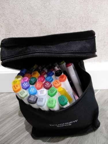 Где купить Маркеры TOUCHNEW, 168 цветов, художественные маркеры для рисования манги, спиртовой рисунок, граффити, набор дизайнерских маркеров