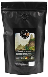 Свежеобжаренный coffee Brazil juniana in beans, 500g