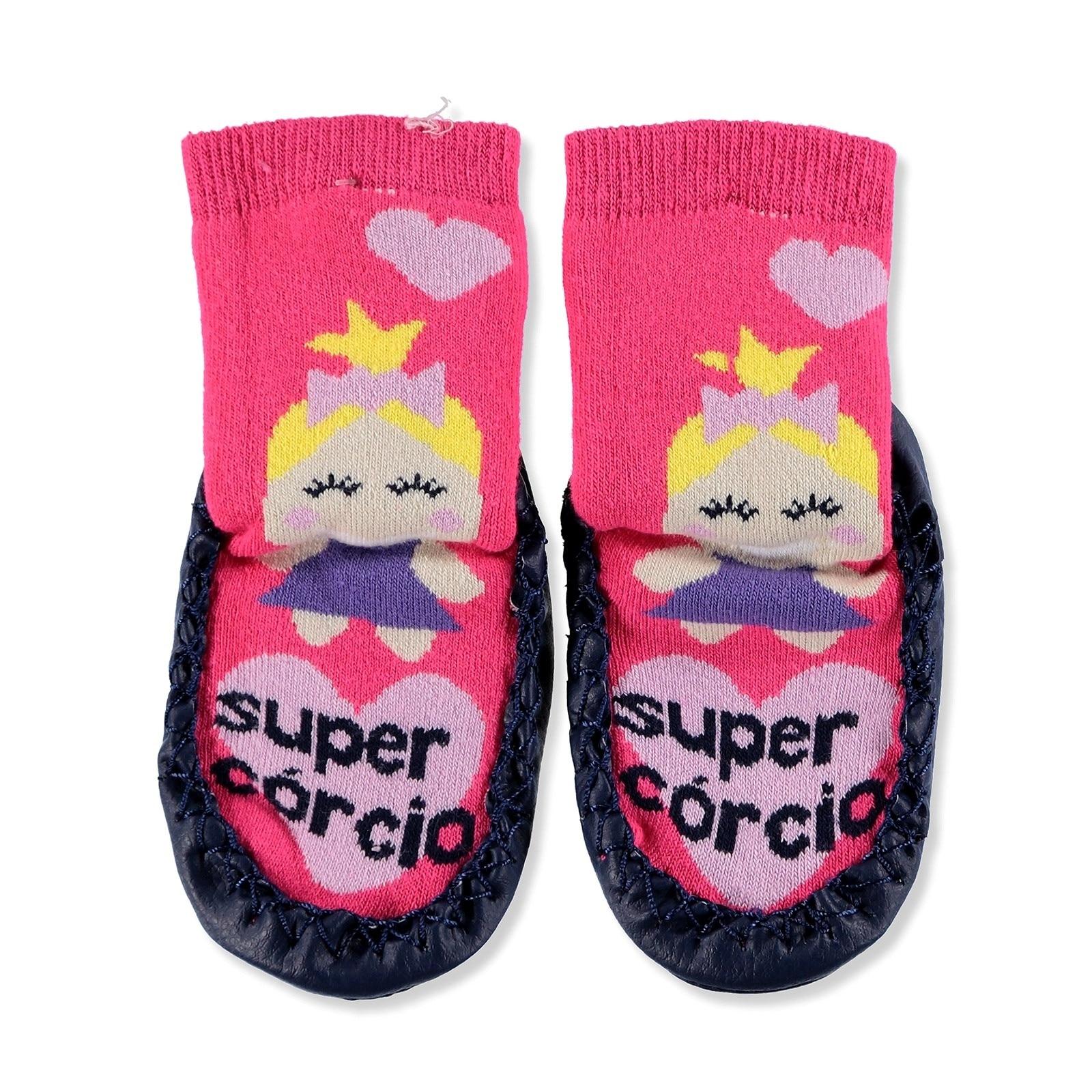 Ebebek HelloBaby Winter Detailed Baby Socks
