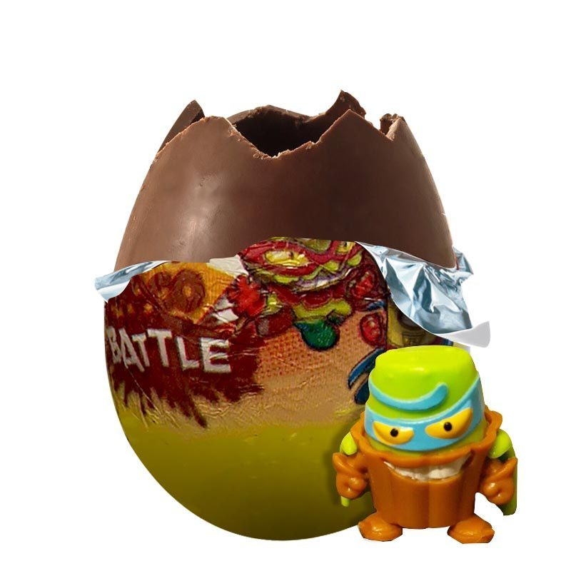 Choco Battle-Eggs Chocolate SuperZings