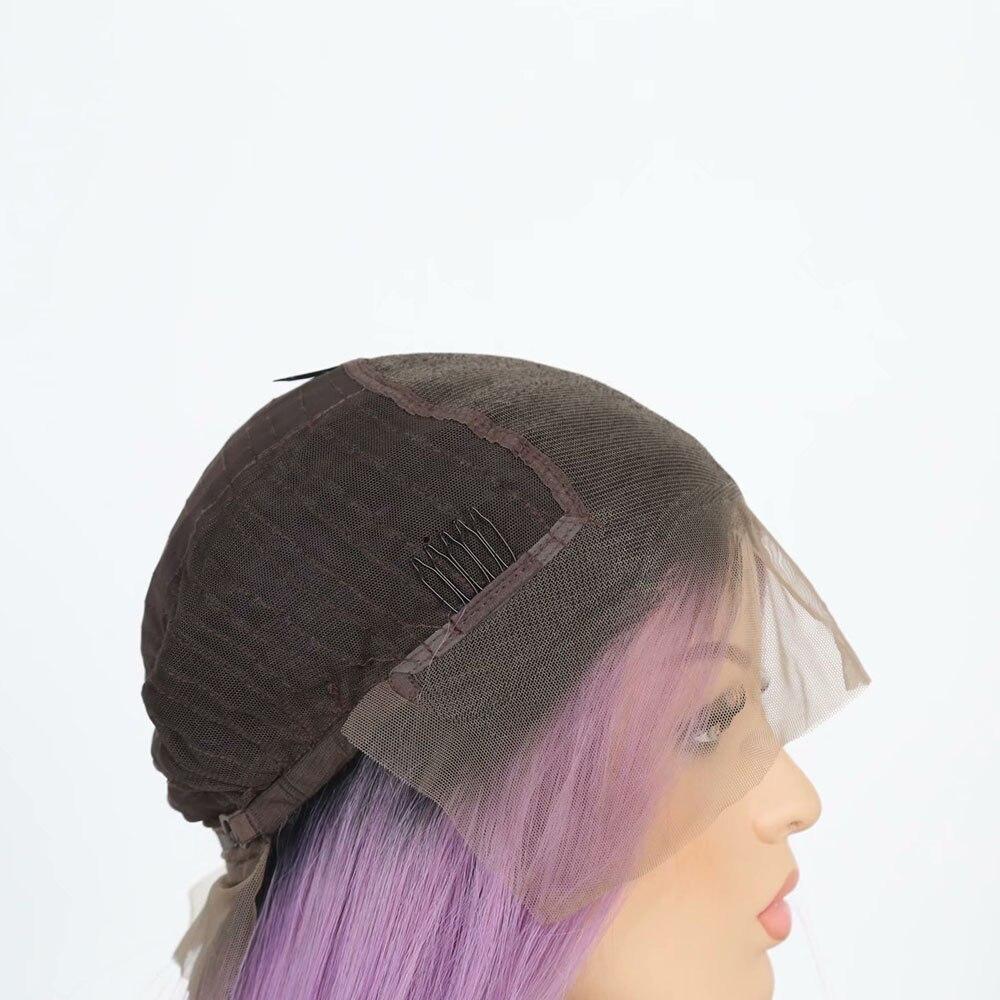 Quinlux perucas de cabelo sintético 13x6 ombre