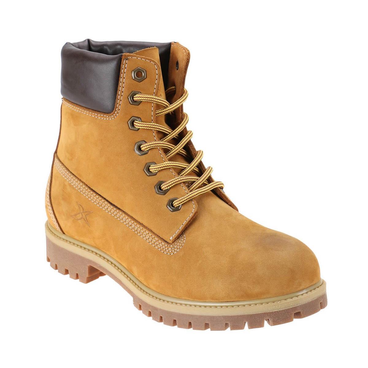 FLO 1252632 Yellow Men Boots KINETIX