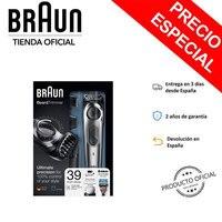 Braun BT7020 Beard Trimmer Dial precision, 4 accessories, 39 Tings length, metal cutter blades sharp