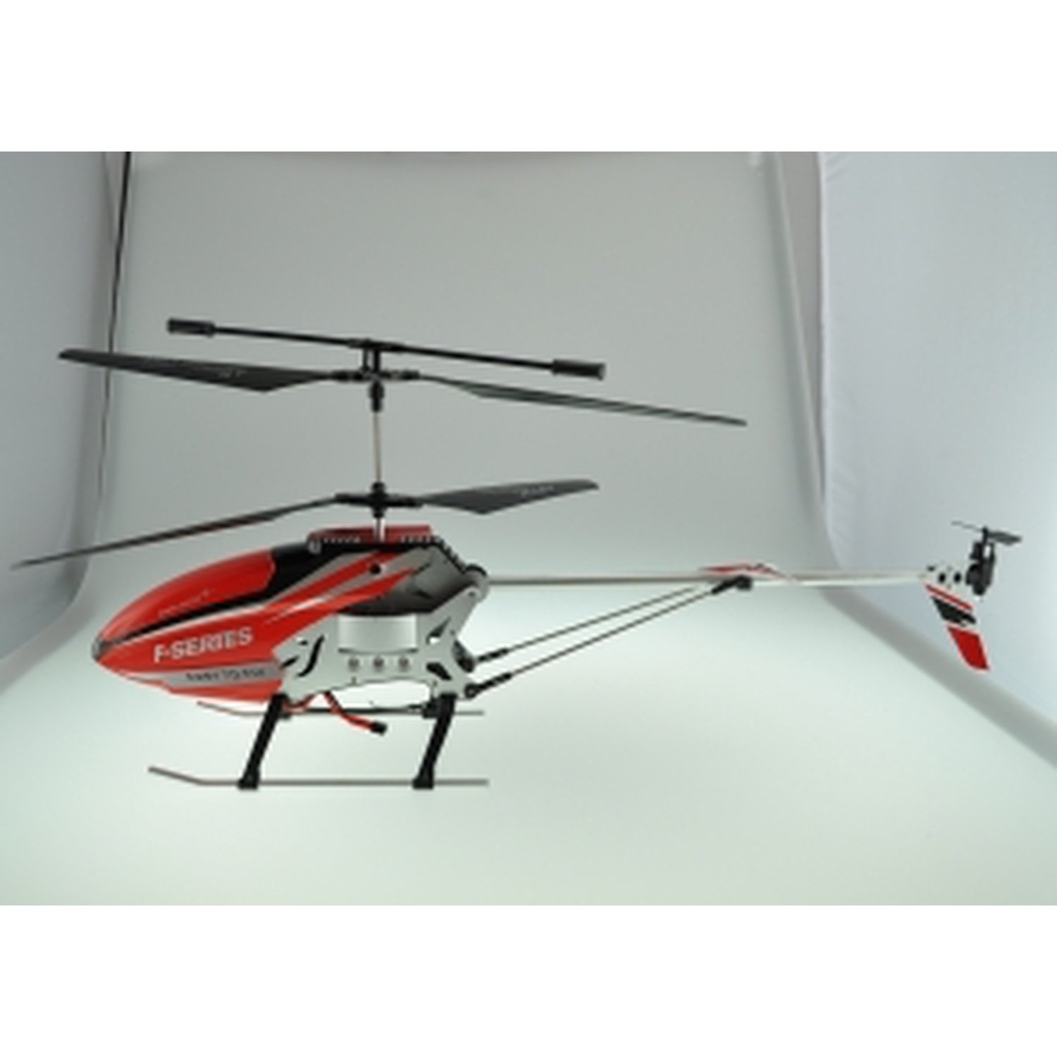 RC HELICOPTER MODEL F58 3.5 CHANEL, GYROSCOPE, METALLIC ALLOY